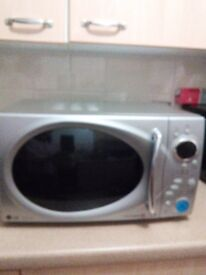 LG microwave oven with grill 800wats