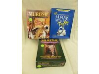 3 x Murder Mystery Boxed Games.