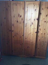 2x 2doors wardrobes