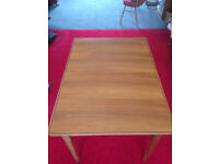 Dining Table and 6 chairs Teak, Gordon Russell of Broadway Vintage mid century £40