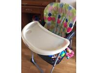 Chico high chair for sale