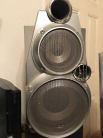 jvc speakers & amp
