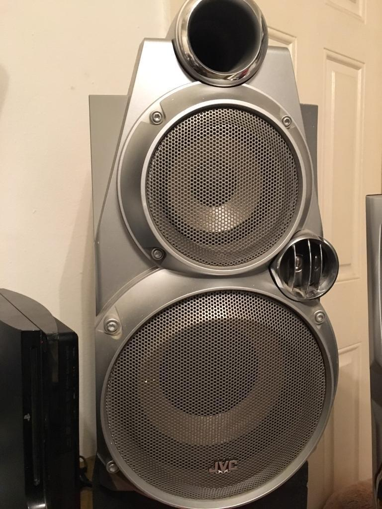 jvc speakers & amp