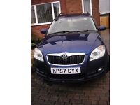 Skoda Roomster Automatic 1.6 Petrol 5 door 2007 with Pan Roof