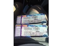 READING FESTIVAL WEEKEND TICKETS FOR SALE RING 07715347081