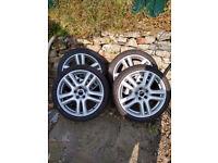 "Jaguar Aruba 18"" alloy wheels 225/40/R18"