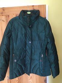 M & S Per Una green winter coat - size 12