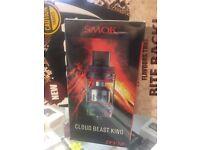 SMOK TFV12 Cloud Beast King Tank - Oil Spill Rainbow - Brand New