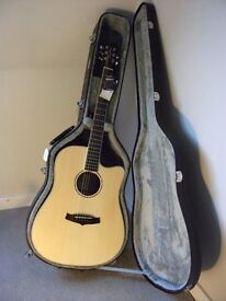 Tanglewood Premier TPE DCE ZS Electro Acoustic Guitar.