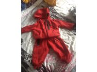 2x baby Nike tracksuits