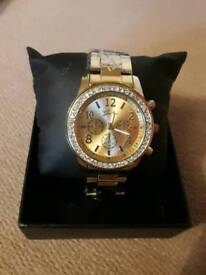 Ladies Gold Coloured Watch