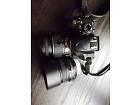 Nikon D3200 with 18-55mm VR II Lens Kit + Nikon AF-S DX NIKKOR 50mm f/1.8G Lens