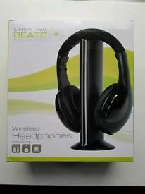 New Boxed Wireless Headphones
