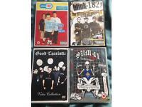 Pop punk dvd lot blink 182 sum 41 good charlotte