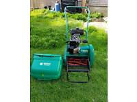 Suffolk Punch petrol cylinder mower