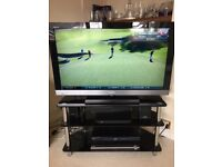 Sony Bravia LCD TV and stand