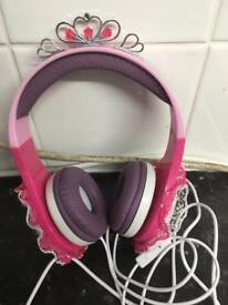 Princess headphones
