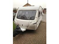 2007 Abbey Freestyle 6 Berth Caravan With Motor Mover & Lots Of Extras