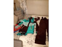 Girls ski suit hor sale with extras