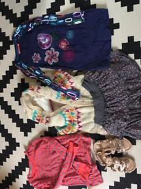 Girl's clothes bundle age range 7-9years