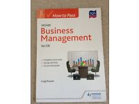 SQA Higher for CfE How To Pass Business Management Textbook