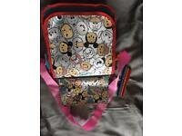 Disney tsum tsum bag and pencil case