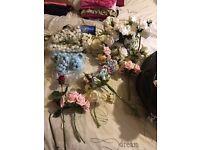 Florists Foam flowers & other bits