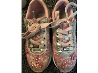 Lelli jelly trainers size 2