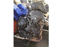 Triumph 675 complete engine 2015 3,000 miles