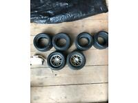 Schumacher havoc rc car wheels and tyres