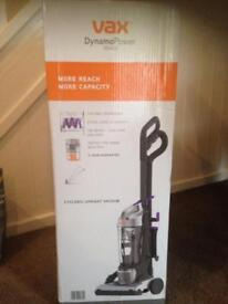 Vax Upright bag less vacuum cleaner, low suction