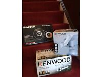 ***BRAND NEW*** Kenwood and Salter Kitchen Scales/Pasta Maker Accessories