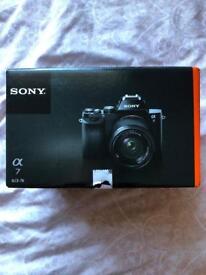 Sony A7 24MP DSLR Camera + lense