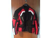 RST ALPHA IV Textile Jacket! 2XL in Red - AS NEW!