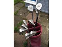 Women's golf clubs lady hogan full set