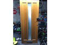 OAK GLAZED FRONT DOOR 2025 mm X 811 mm