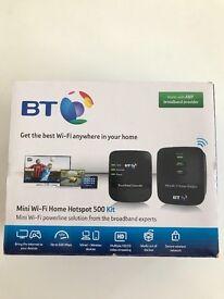 BT Wi-Fi Extender Home Hotspot 500 Kit