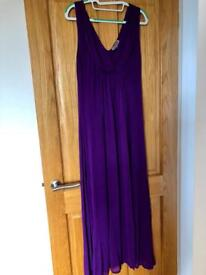 Jigsaw maxi dress, size small