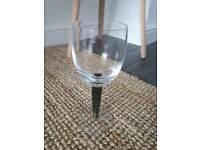 Denby Jet Wine Glass (single)