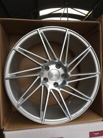 19. Inch veemans 5x112. Brand new with brand new tyres.