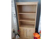 Display cabinet, bookcase, shelves