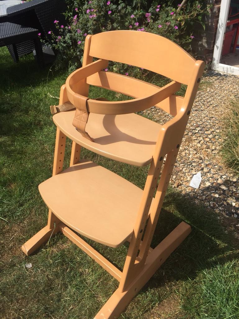 Wooden High chair | in Fordingbridge, Hampshire | Gumtree