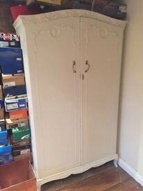 Vintage shabby chic antique style Wardrobe
