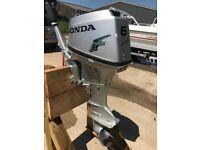 6HP HONDA OUTBOARD BOAT ENGINE SHORT SHAFT