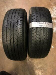 235/65R16 FIRESTONE All Season Tires (Pair) Calgary Alberta Preview