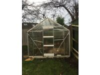 Greenhouse for sale. Dismantled ready to collect.