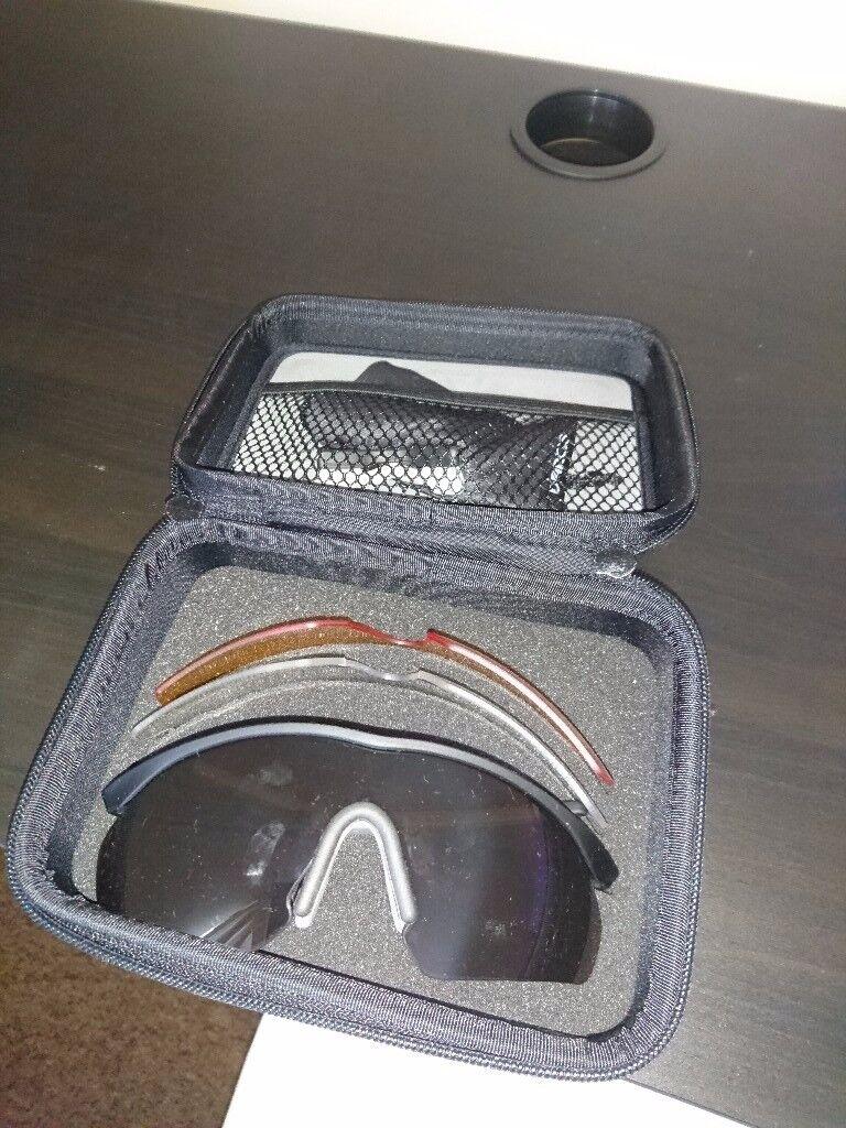Madison D Arcs Tri Cycling Glasses Set