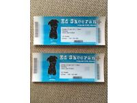 Ed Sheeran tickets x 2 Manchester Arena Sunday 23rd April