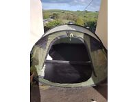 Outwell fusion 400 4man pop up tent