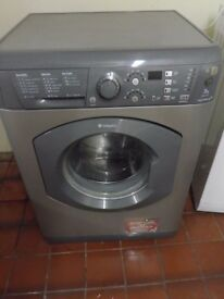 """""""Hotpoint """"Grey Washing machine.. 7kg..Spin-1600...For sale..Can be delivered."""
